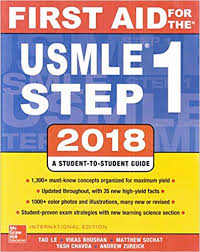 FIRST AID FOR THE USMLE STEP 1 2018 ISE