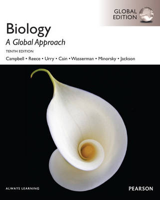 BIOLOGY A GLOBAL APPROACH WITH MASTERINGBIOLOGY